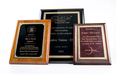 custom engraved plaques